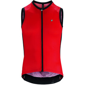 assos Mille GT Mouwloze Jersey Heren, national red